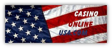 online casino USA flag